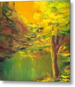 Aldergrove Lake Metal Print