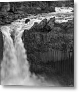 Aldeyjarfoss Waterfall Iceland 3353 Metal Print