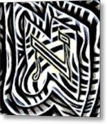 Aleph Metal Print