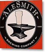 Alesmith Sign, Newport R. I. Metal Print
