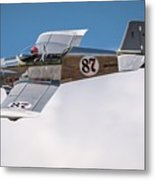 Alex Alverez Friday Morning At Reno Air Race Signature Edition 16x9 Aspect Metal Print