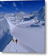 Alex Lowe On Mount Bearskin 2850 M Metal Print