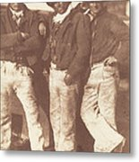 Alexander Rutherford, William Ramsay And John Linton Metal Print