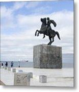 Alexander The Great, Thessaloniki, Greece Metal Print