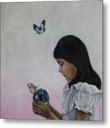 Alexandria Of The Butterflies Metal Print