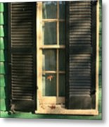 Alexandria Window Metal Print