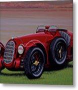 Alfa Romeo 8c 2900a Botticella Spider 1936 Painting Metal Print