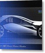 Alfa Romeo Bertone Pandion Concept Metal Print