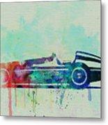Alfa Romeo Tipo Watercolor Metal Print by Naxart Studio