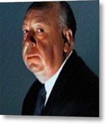 Alfred Hitchcock Metal Print