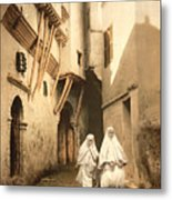 Algeria: Street Scene, C1899 Metal Print