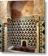 Alhambra Palace Baths Metal Print