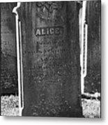 Alice Adams Metal Print