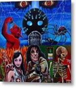 Alice Cooper Nightmare Metal Print