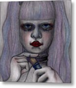 Alice In Another World Metal Print