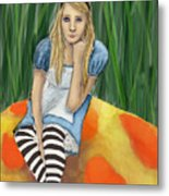 Alice In Wonderland Metal Print
