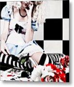 Alice2 Metal Print