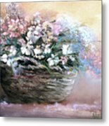 Alice's Bouquet Metal Print