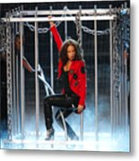 Alicia Keys Uncaged Metal Print by Steven Sachs