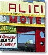 Alicia Motel Las Vegas Metal Print