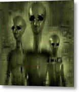 Alien Brothers Metal Print