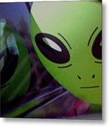 Alien Is Closer Than He Appears Metal Print