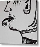 Alien Lick Metal Print
