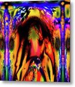 Alien Lock Up Metal Print