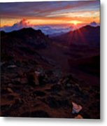 Alien Sunrise Metal Print