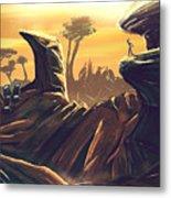 Alien Territory Metal Print