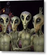 Alien Vacation - Kennedy Space Center Metal Print