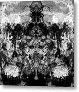 Aliena - Monochromatic Metal Print
