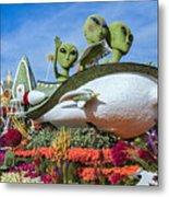 Aliens Spaceship 3 Metal Print