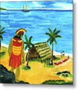 Alihi Hawaiian For Chief #57 Metal Print
