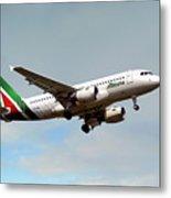 Alitalia Airbus A319-112 Metal Print