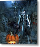 Alive Or Undead Metal Print
