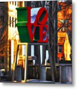 All About Love Metal Print