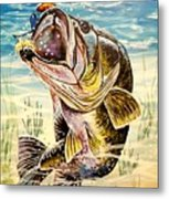 All About The Bass Metal Print