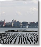 All About Timing Metal Print