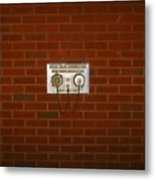 All Alone Pump Test Metal Print