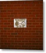 All Alone Pump Test Metal Print
