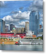 All American City Metal Print by Mel Steinhauer