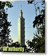 All Authority Metal Print