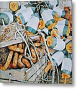 All Buoy'd Up Metal Print by P Anthony Visco