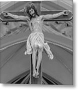 All For You Grayscale Metal Print