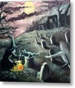 All Hallow's Eve Metal Print