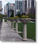 All In A Row Metal Print