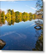 All Is Quiet On The River Metal Print