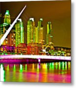 All Night Puerto Madero Metal Print