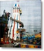 All Quiet On The Pier Metal Print